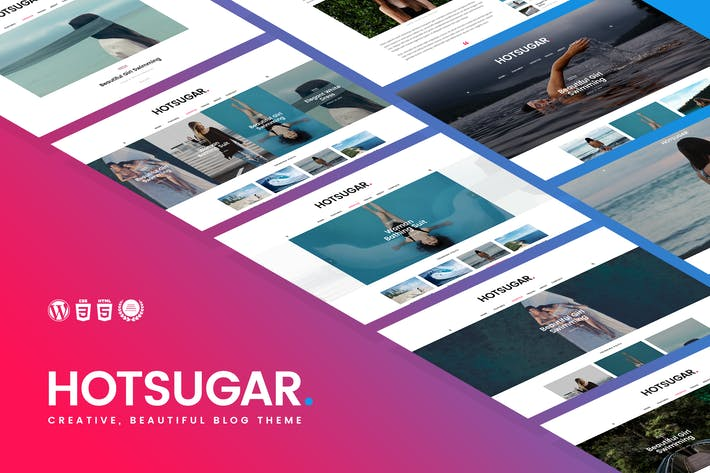 Thumbnail for HotSugar | Responsive WordPress Blog Theme