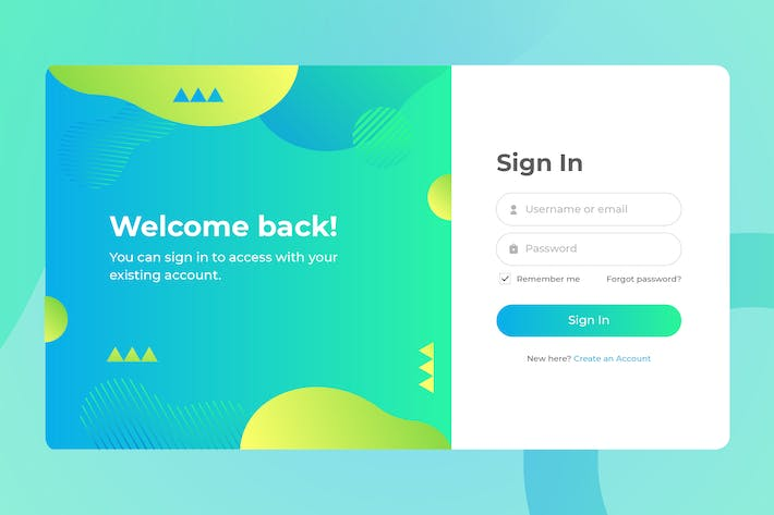 Thumbnail for Login Page Screen 02