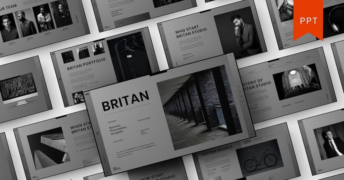 Download Britan – Business PowerPoint Template by DensCreativeStudio