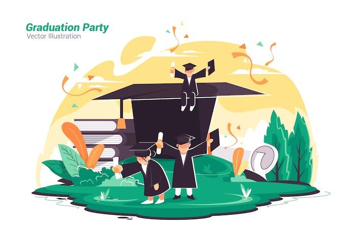 Thumbnail for Graduation Party - Vector Illustration