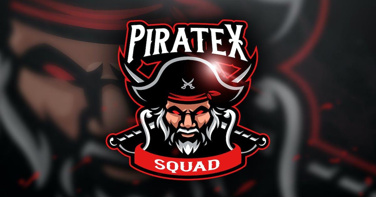 Download Pirate Squad - Mascot & Esport Logo by aqrstudio