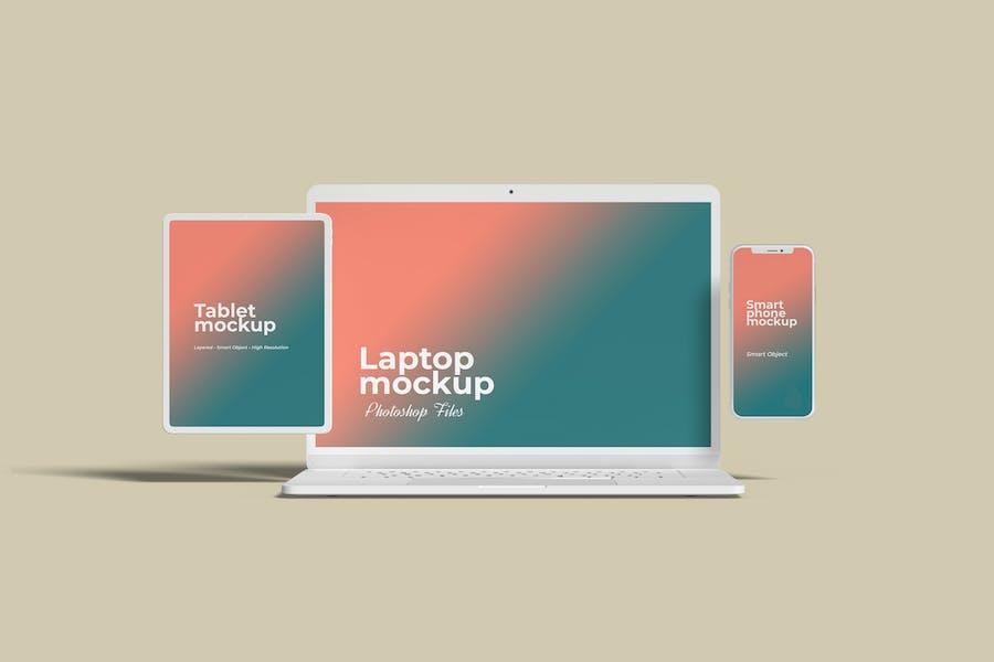 Multi Devices Website Mockup Vol.3