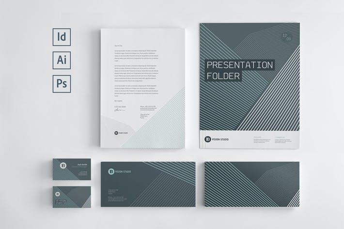 Thumbnail for Stationery Corporate Identity 006