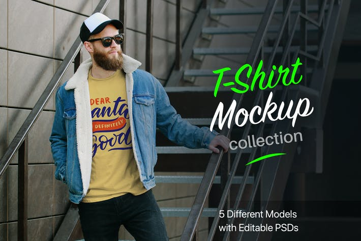 Thumbnail for Winter T-Shirt Mockup Collection