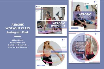 Aerobic Workout Class