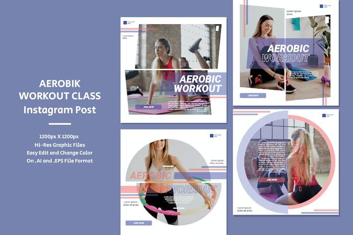 Aerobic Workout-Klasse