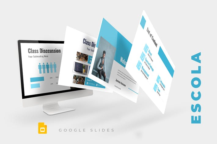 Thumbnail for Escola - Google Slides Presentation