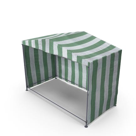 Green Marquee Tent