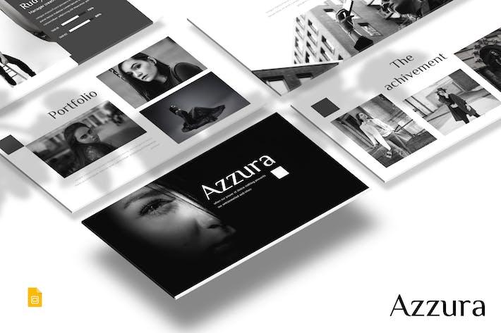 Thumbnail for Azzura - Google Slides Template