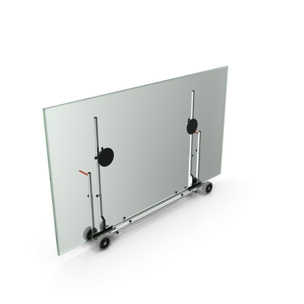 Glass Panel Transport Trolley