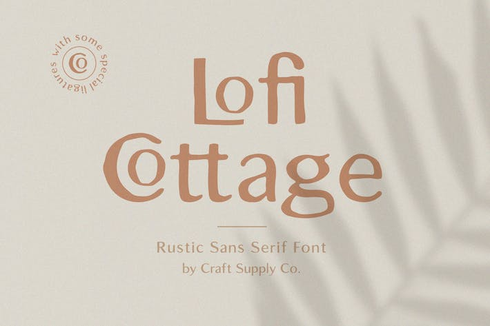 Thumbnail for Lofi Cottage - Rustic Sans Serif