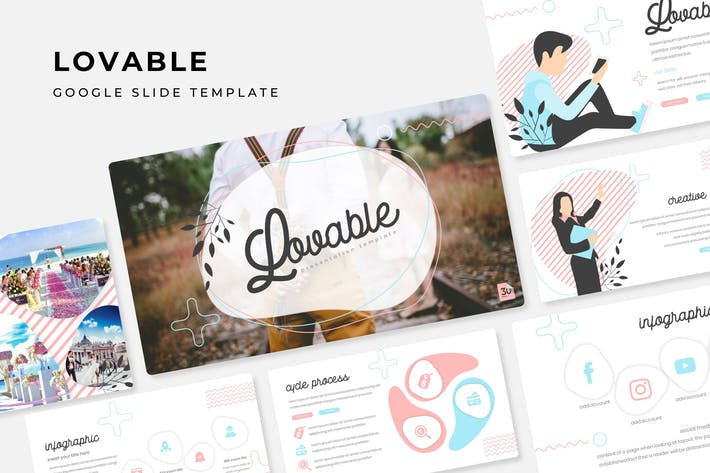 Thumbnail for Lovable - Google Slide Template