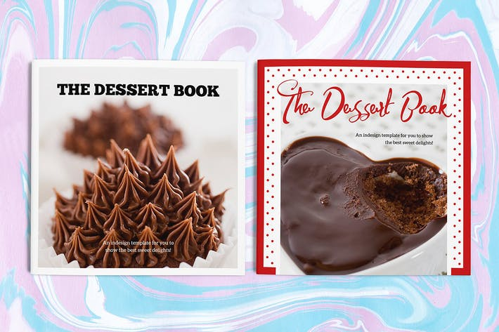 Thumbnail for The Dessert Book Indesign Template