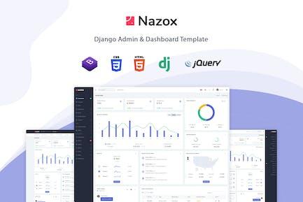 Nazox - Django Admin & Dashboard Template