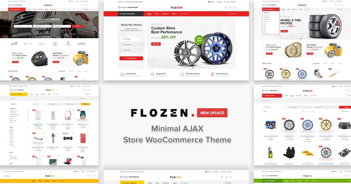 Download Flozen - AJAX Car Accessories Theme for WordPress by NasaTheme