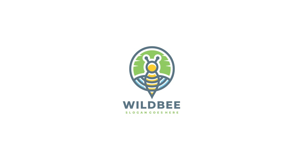 Download Wild Bee Logo by 3ab2ou