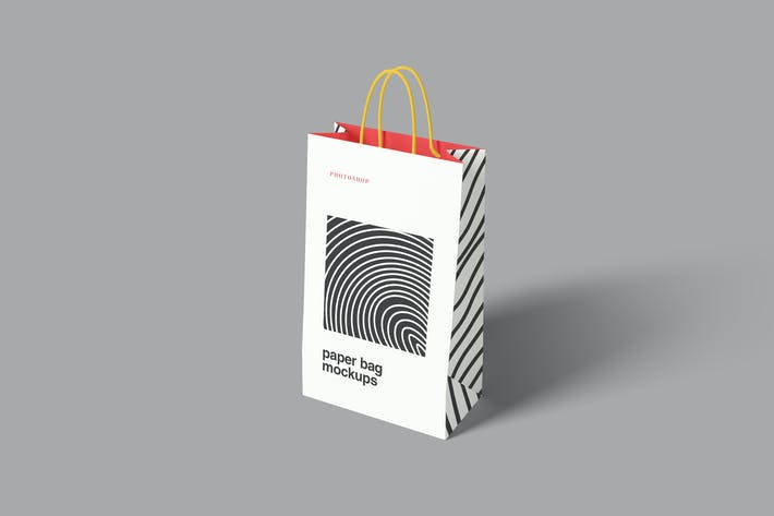 Thumbnail for Paper Bag Mockups