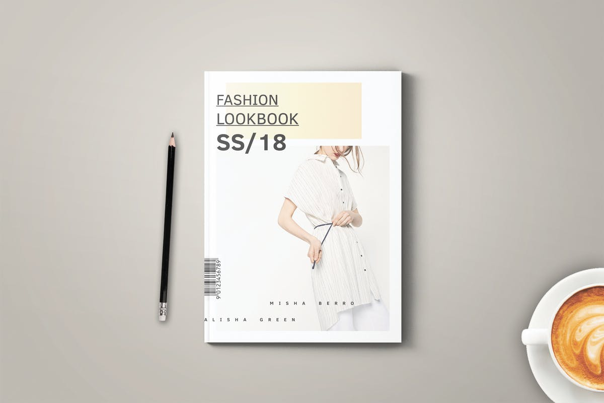 Fashion Lookbook Cover : Fashion lookbook by grizzlydesign on envato elements