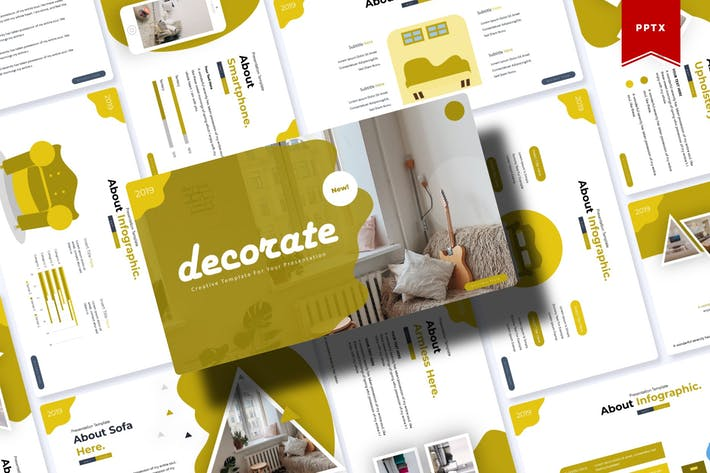 Thumbnail for Decorate | Powerpoint Template