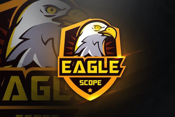 Thumbnail for Eagle Scope - Mascot & Esport Logo