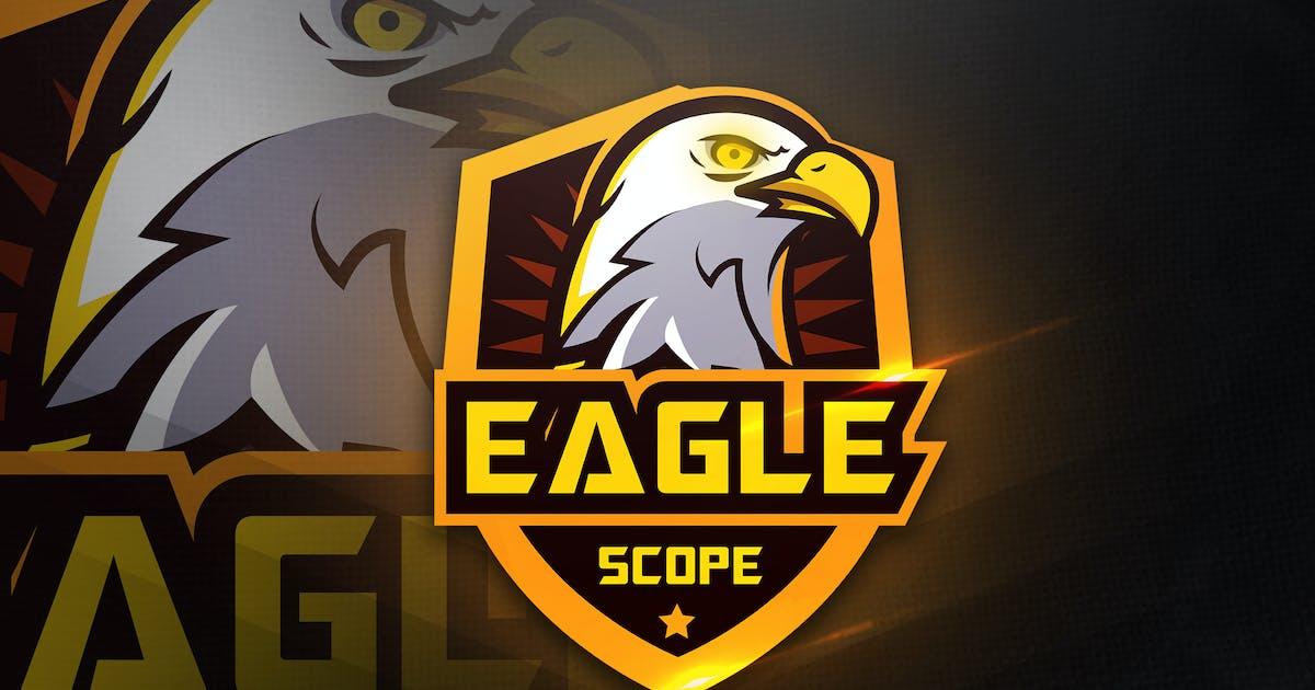 Download Eagle Scope - Mascot & Esport Logo by aqrstudio