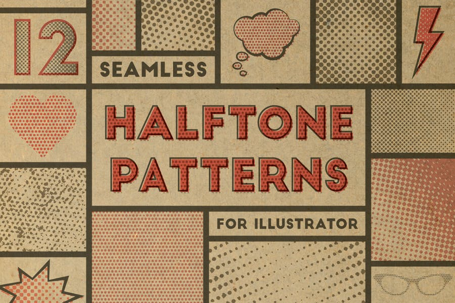 Seamless Halftone Patterns