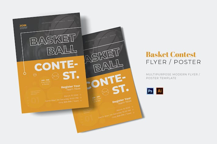 Basket Contest Flyer