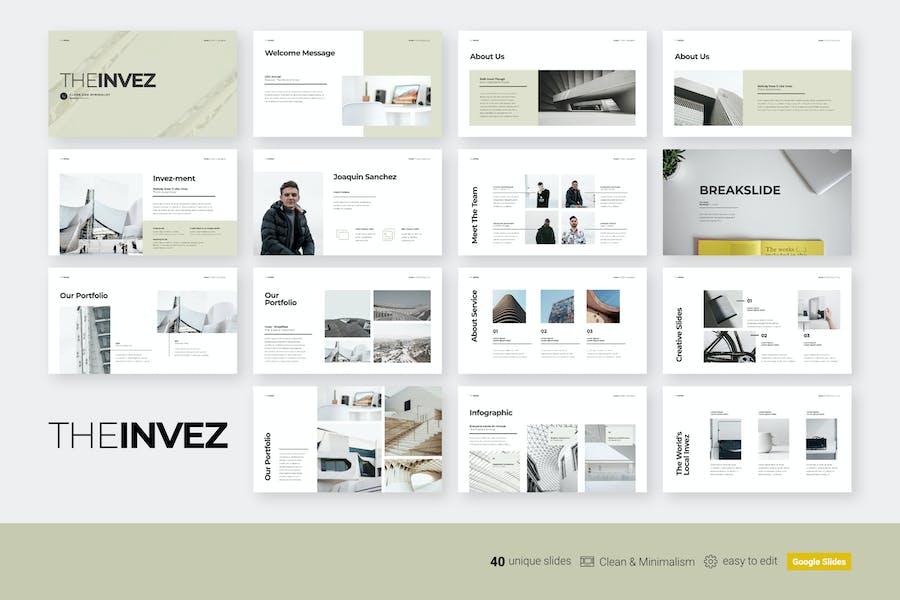 Die Invez - Google Dia-Präsentation