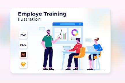 Employe Training 2 - Ilustración de incorporación