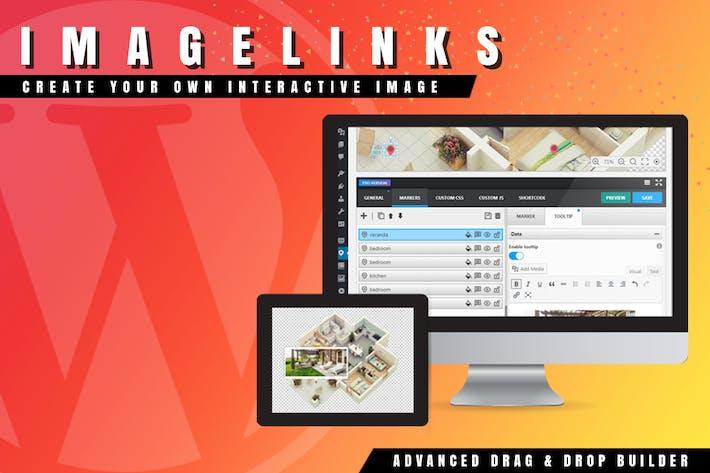 Thumbnail for ImageLinks - Interactive Image for WordPress