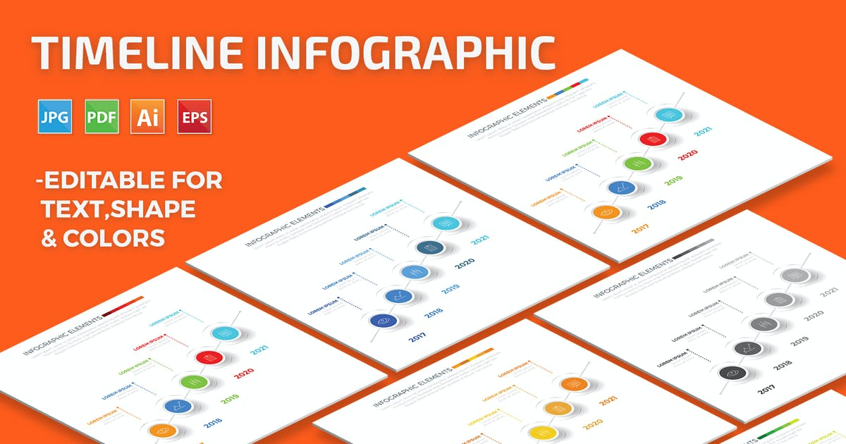 Download Timeline Infographic by mamanamsai