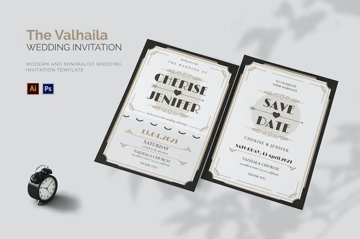 Valhaila - Wedding Invitation