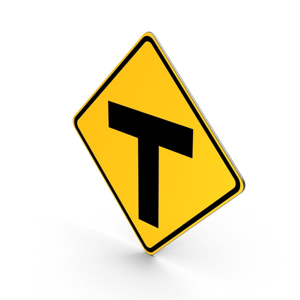 Cover Image for T Road Sign