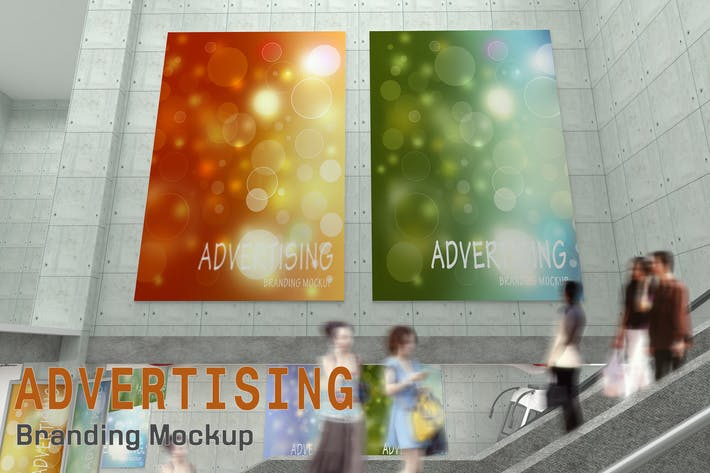 Thumbnail for Advertising Branding Mockup