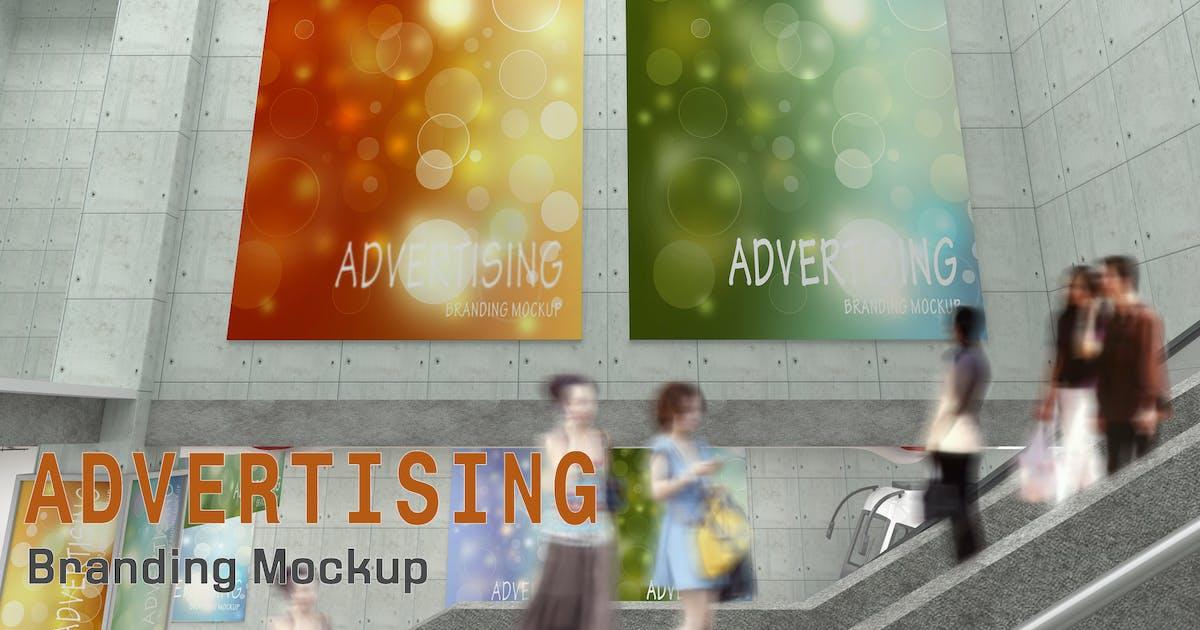 Advertising Branding Mockup by sherlockholmes
