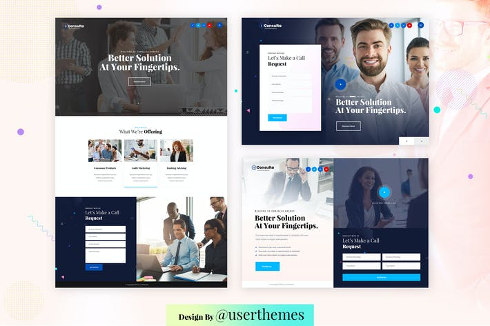 Thumbnail for Business Consulting Featured Exploring Template
