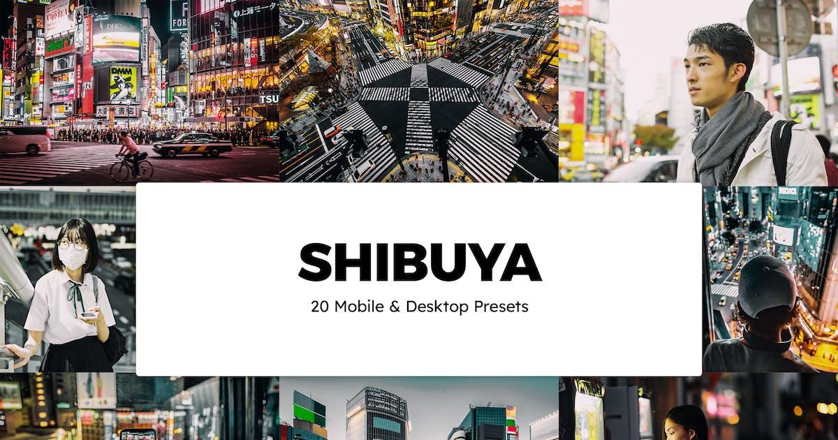 Download 20 Shibuya Lightroom Presets & LUTs by sparklestock