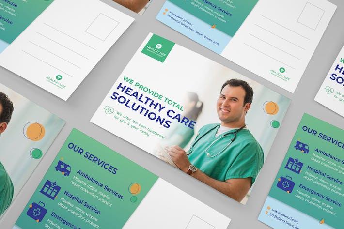 Thumbnail for Medical postcard