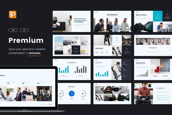 Thumbnail for Premium Business & Multipurpose (Powerpoint)