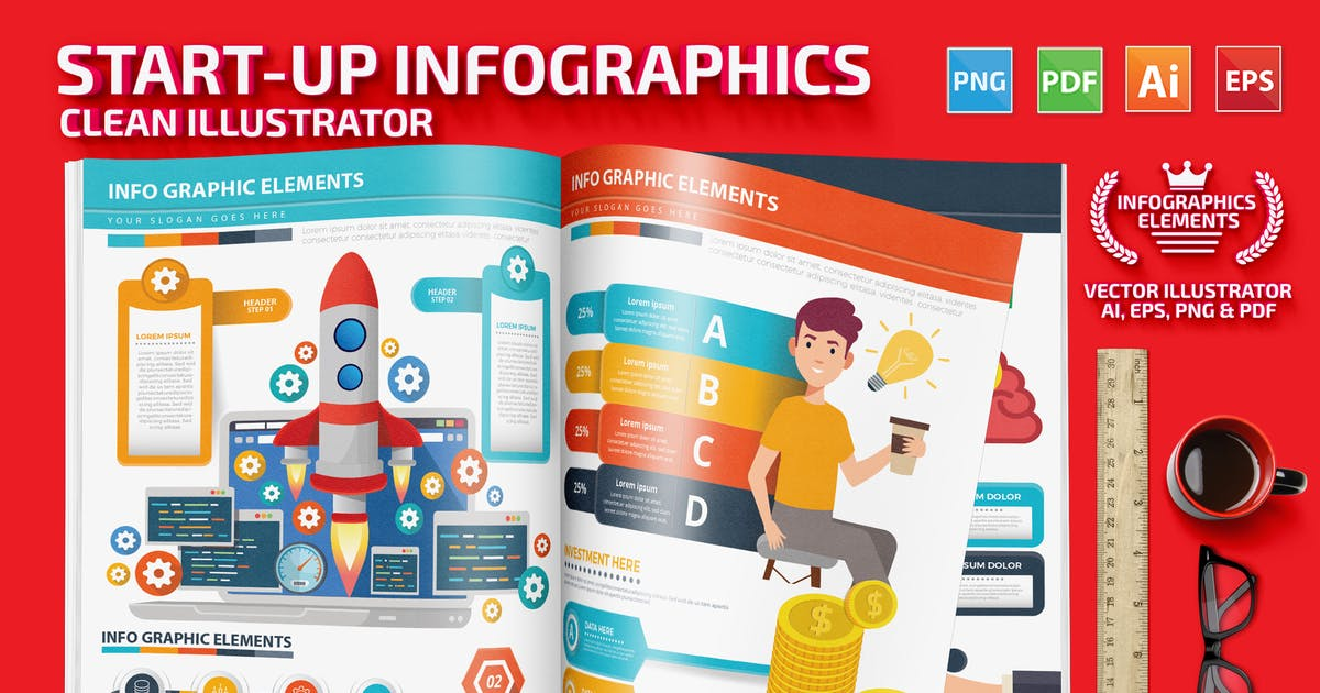Download Startup Infographics by mamanamsai
