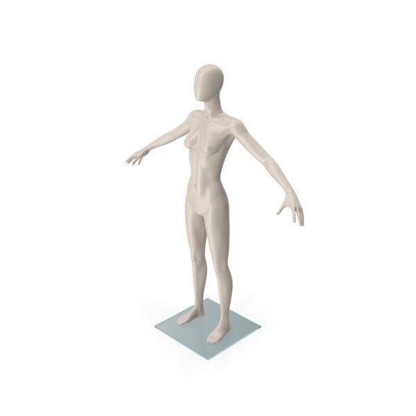 Female Mannequin T-Pose