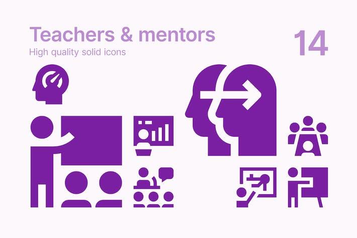 Lehrer & Mentoren Icons