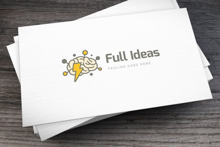 Thumbnail for Full Ideas Logo Template