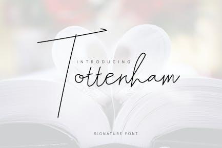 Tottenham - Script Signature