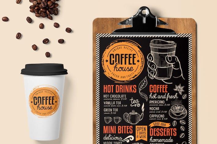 Coffee menu template by barcelonadesignshop on envato elements thumbnail for coffee menu template maxwellsz