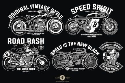 Retro Bike Design