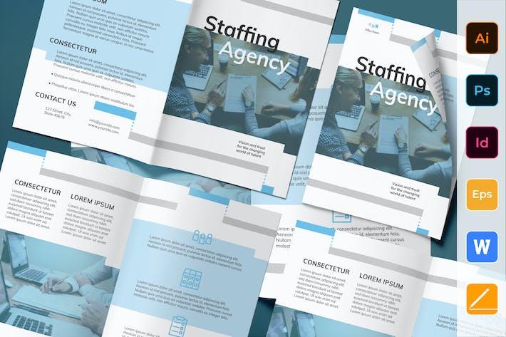 Thumbnail for Brochure de l'Agence de dotation de personnel Bifold