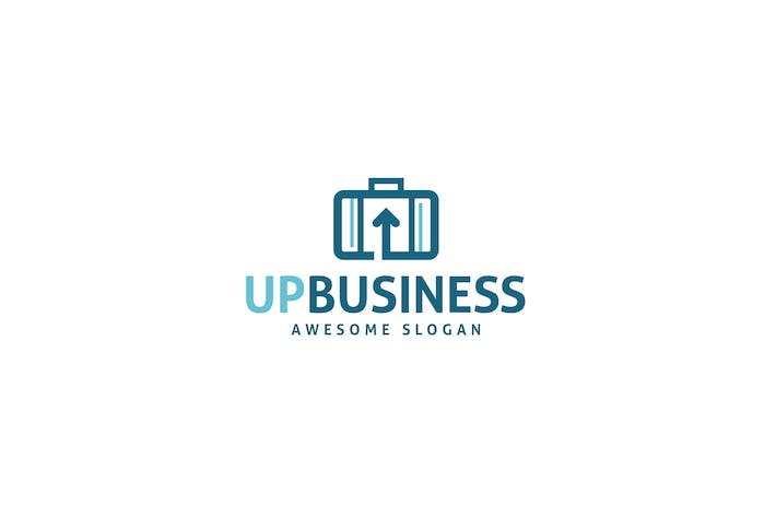 Thumbnail for Up Business Logo Template