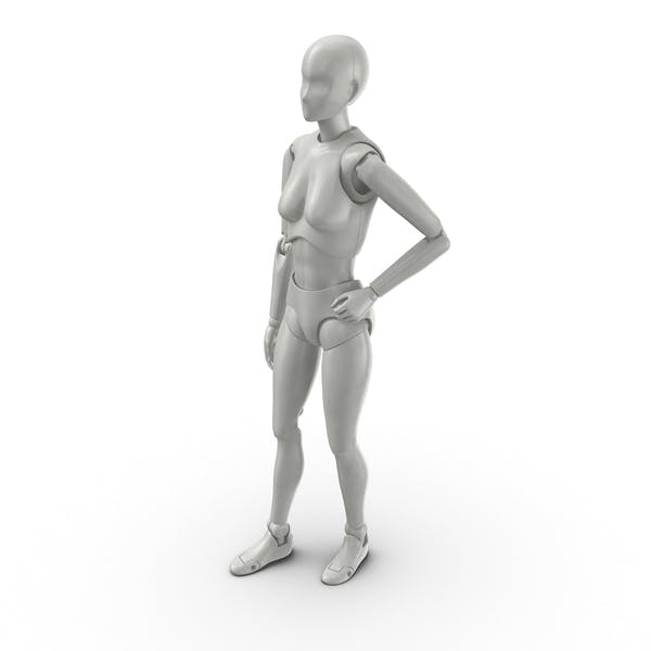 Thumbnail for Posed Female Figure