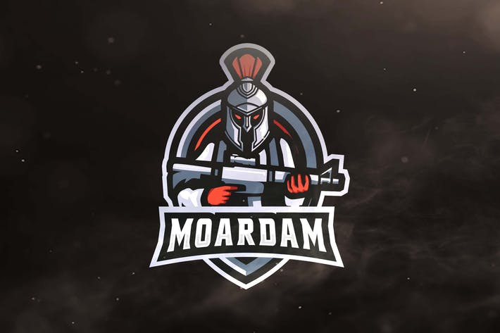 Thumbnail for Spartan Warrior Sport and Esports Logo
